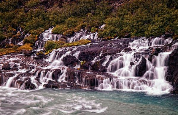 Скачать бесплатно картинки водопадов на телефон