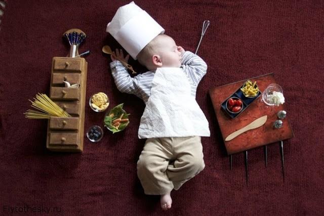 Фото спящих детей от Adele Emersen - Заметки Blogородного Кота