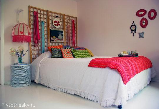 65 потрясающих идей для украшения изголовья кровати