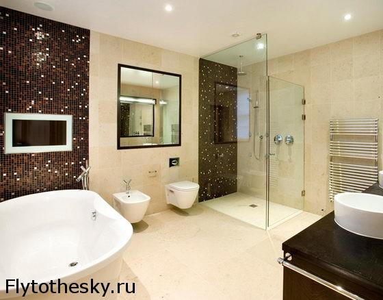 ванные комнаты большие дизайн фото