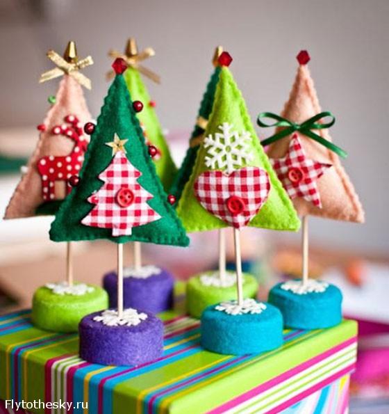 Новогодняя елка своими руками (7)