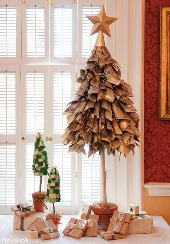 Новогодняя елка своими руками (6)