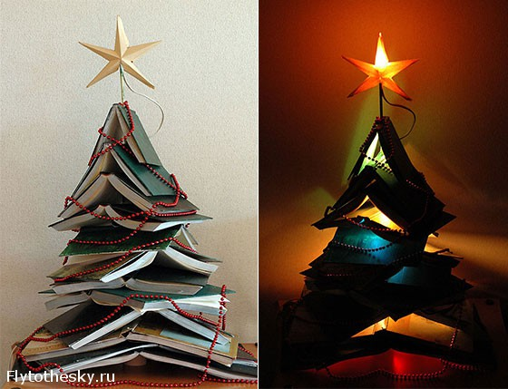Новогодняя елка своими руками (11)