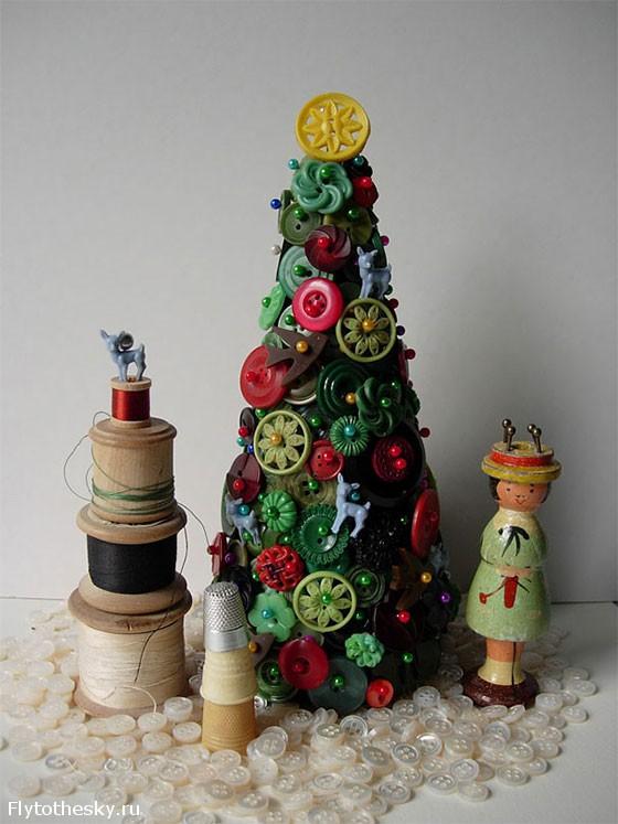 Новогодняя елка своими руками (10)