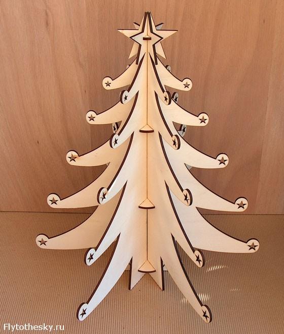 Новогодняя елка своими руками (9)