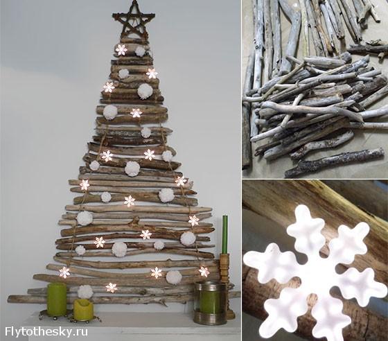 Новогодняя елка своими руками В мире интересного