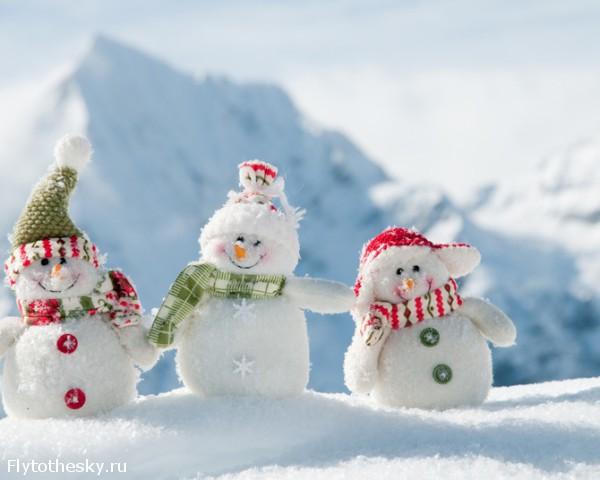 Как сделать интересного снеговика своими руками