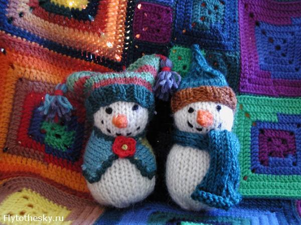Снеговик вязать своими руками