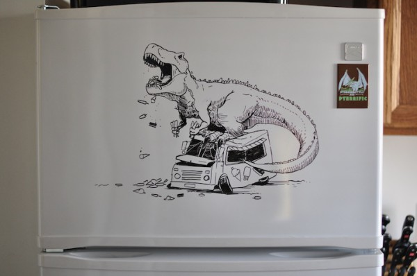 Рисунки для холодильника своими руками 172