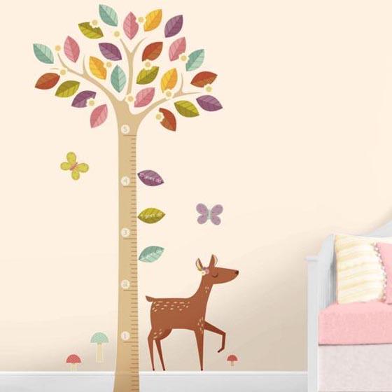 Дизайн стен детской комнаты всего 23