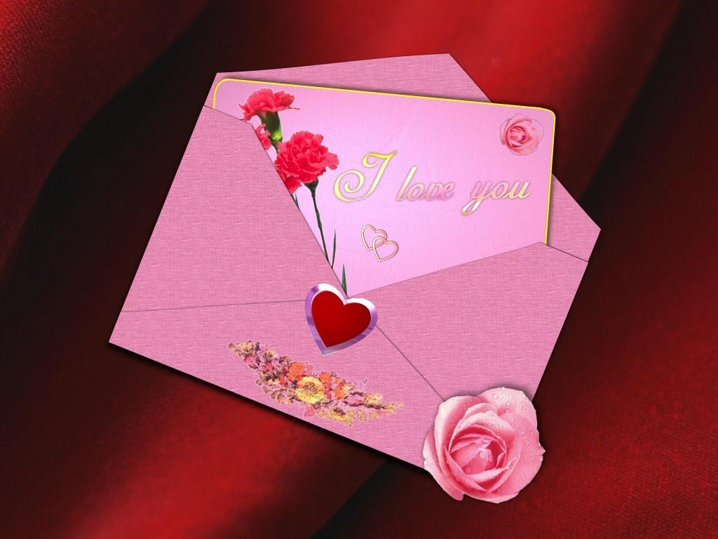Любовные послания на открытках