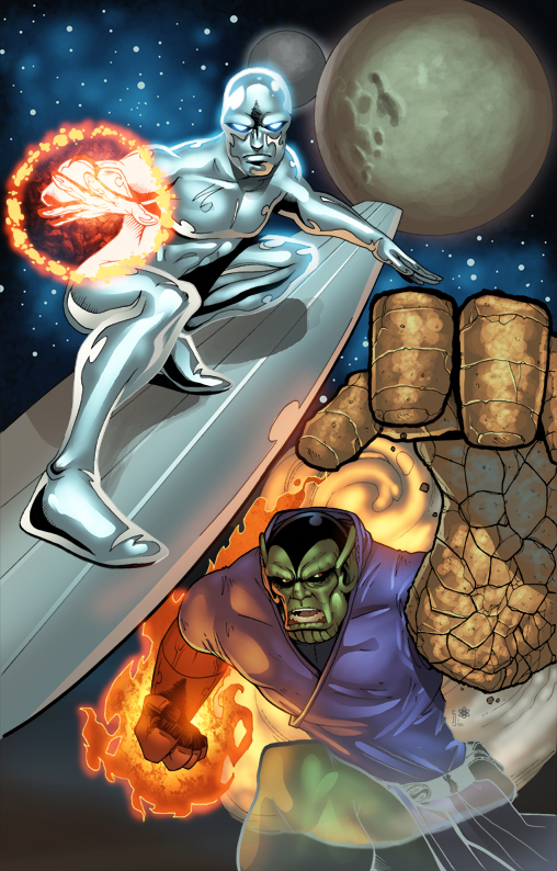 герои и злодеи комиксов (9)