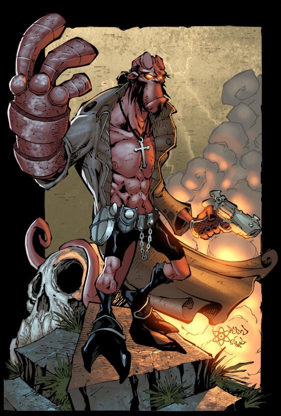 герои и злодеи комиксов (4)
