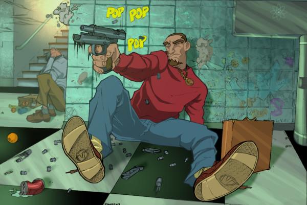герои и злодеи комиксов (31)
