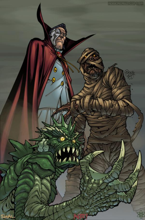герои и злодеи комиксов (28)