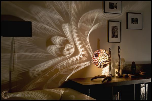 Настольные лампы из дерева своими руками