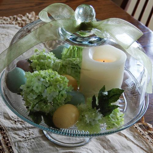 Декор праздничного стола пасхальные
