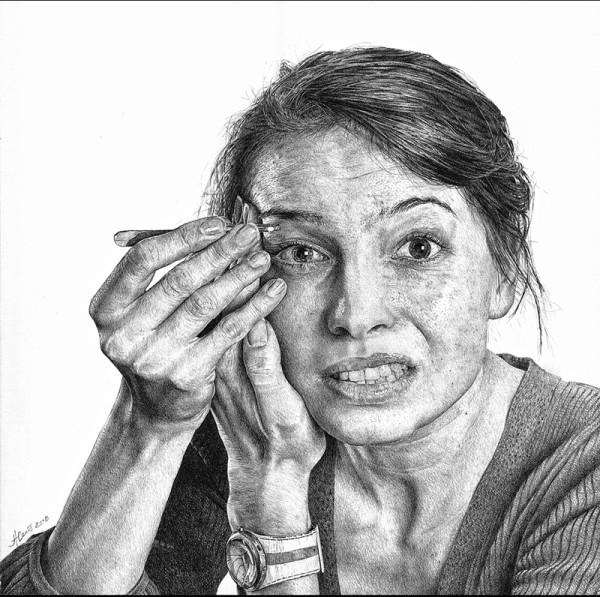картинки карандашом люди
