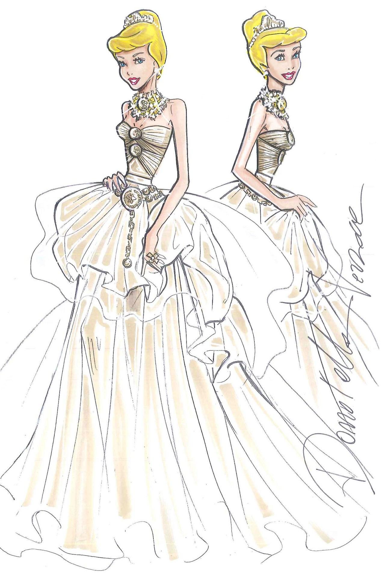 Фото раскраски платьев