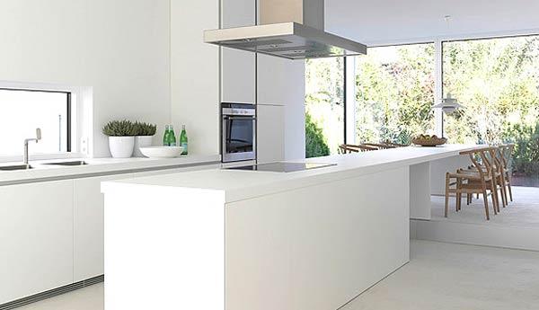 дизайн кухни в белых тонах (5)
