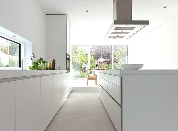 дизайн кухни в белых тонах (3)