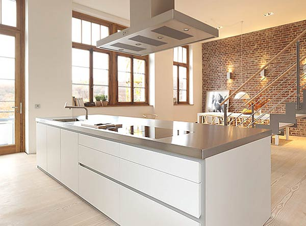 дизайн кухни в белых тонах (1)