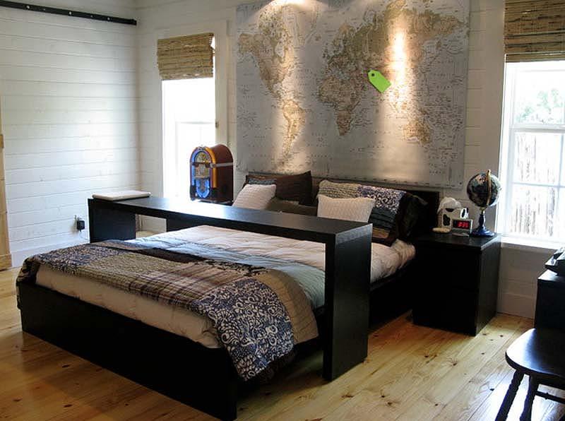 Интересные спальни фото