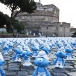 Нашествие Смурфиков в Риме