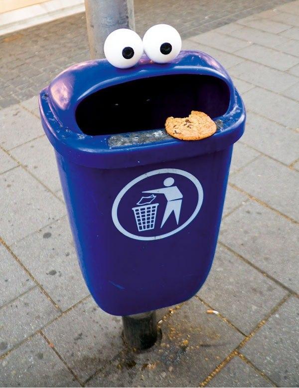Ведро для мусора своими руками