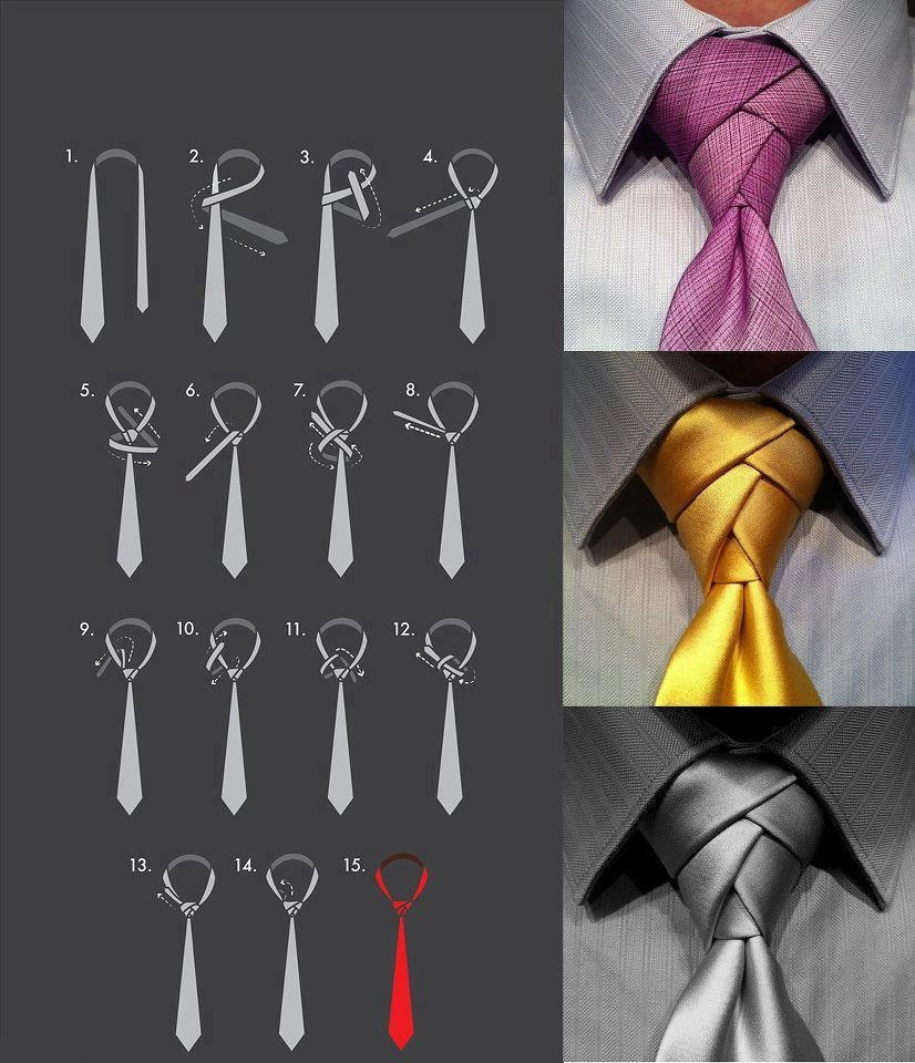 Как завязывать толстый галстук
