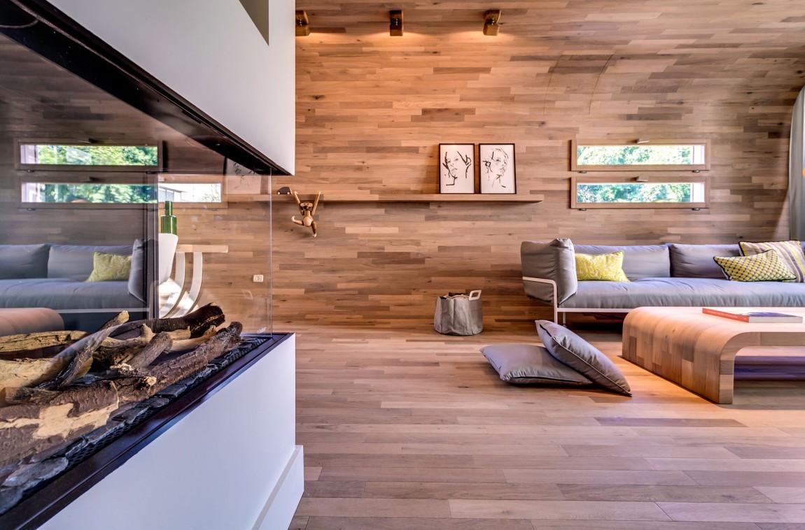 Дизайн квартир с дерева