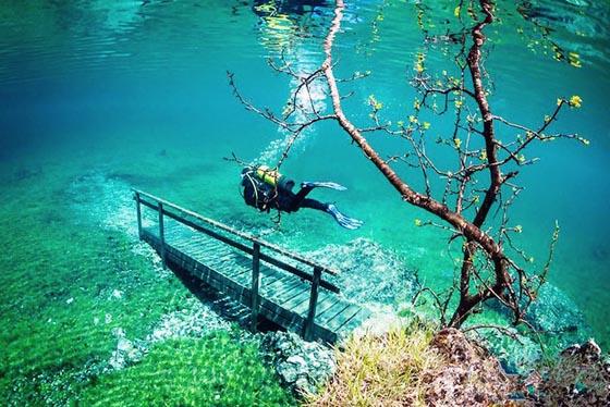 Зеленое озеро Австрия (4)