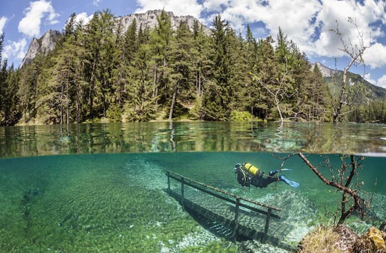Зеленое озеро Австрия (3)