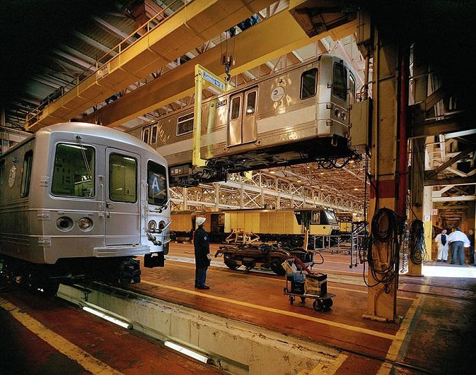 Схема нью йоркский метрополитен