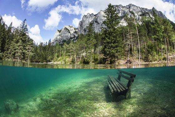 Зеленое озеро Австрия (1)