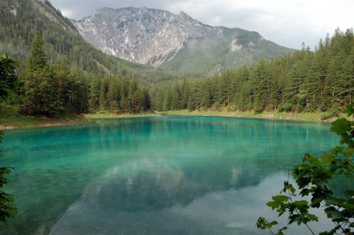 Зеленое озеро Австрия (2)