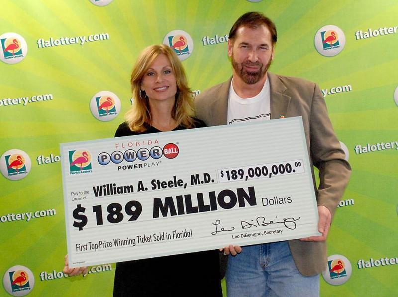Самые крупные выигрыши в лотерею в мире в 2012-2017 годах