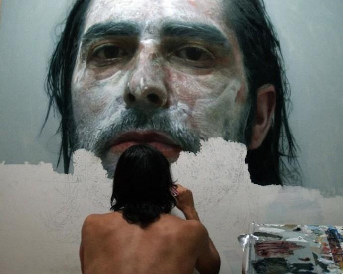 Гиперреалистичные автопортреты (2)