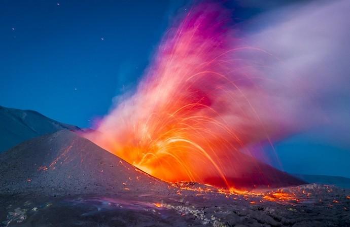 извержение вулкана в Чили (3)