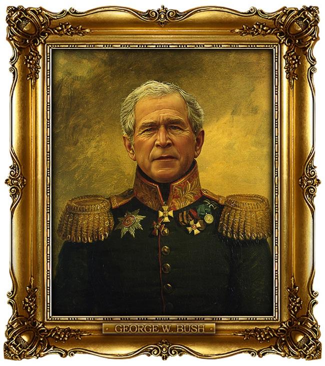 Знаменитости в образе военных (8)