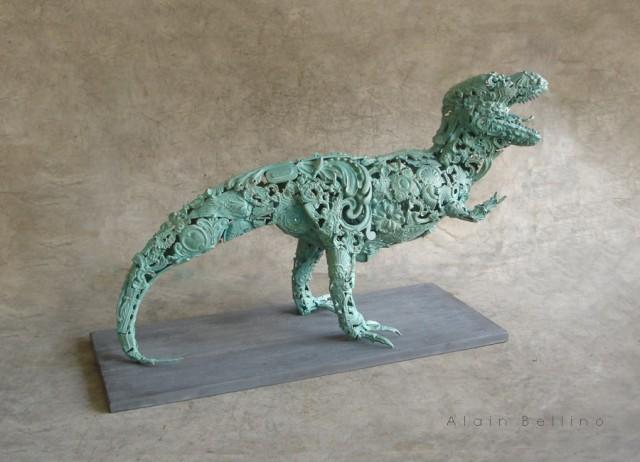 Бронзовые скульптуры (4)