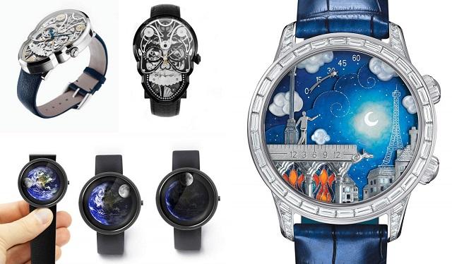 Креативные наручные светодиодные часы от SuperPrices.ru Youtube.com