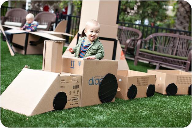 Изделия из картона своими руками для детей фото