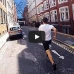 Как один парень пробежал остановку метро со скоростью поезда