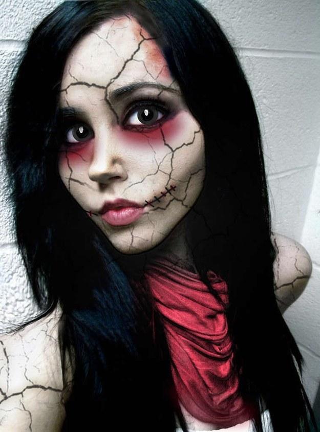 Идеи грима для хэллоуина