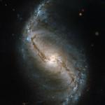 Спиральная галактика из созвездия Печи
