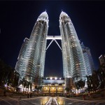 Интерактивная панорама башен-близнецов (Малайзия, Куала-Лумпур)