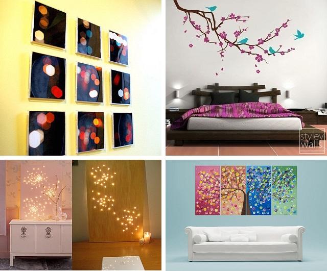 Просто и красиво. 29 идей декорирования стен