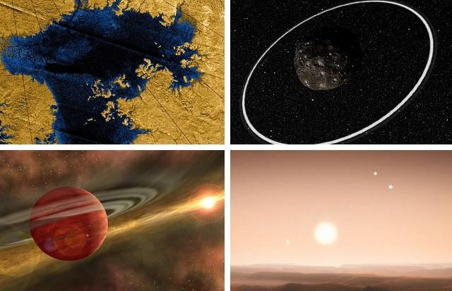 Необъяснимых космических открытий