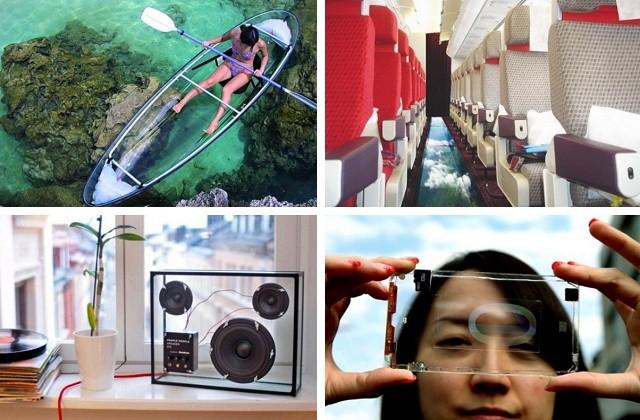 в транспорте в прозрачной одежде видео